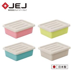 日本JEJ Pianta拼搭組合收納箱/ 39淺 4入(4色一組)