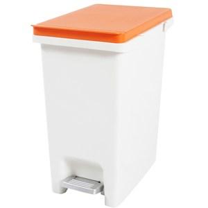 凱亞串聯式分類垃圾桶10L-橘