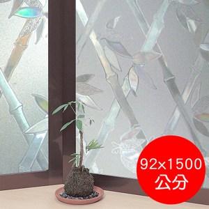 日本製造MEIWA抗UV靜電窗貼(竹籬意象)-92x1500公分