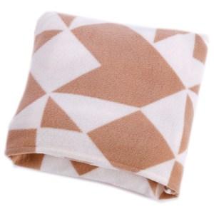 可收納印花隨身毯 幾何樣式款 180x150x0.2cm