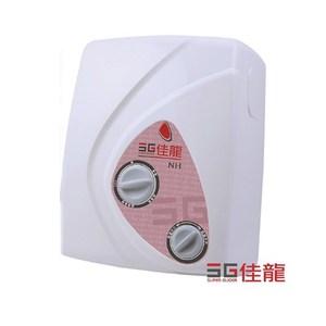 (全省安裝)佳龍瞬熱電熱水器雙旋鈕設計與溫度NH88-LB防漏電