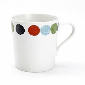 日本伊洛手繪馬克杯 圓點
