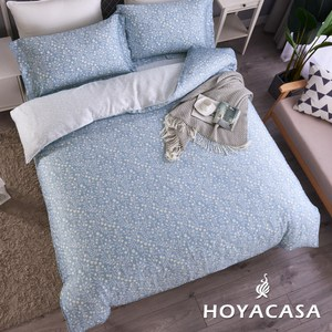 【HOYACASA】蔓想特大四件式抗菌天絲兩用被床包組