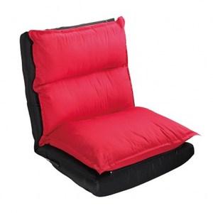 麥克可拆洗舒適仿绒和室椅 紅