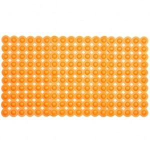 浴室止滑地墊70x39cm 橘方形