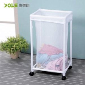 【YOLE悠樂居】滾輪衣物洗衣籃#1425025
