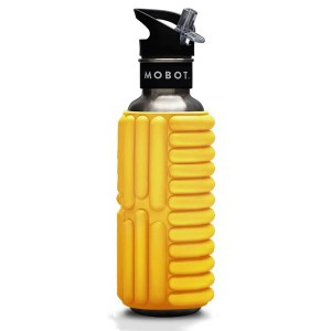 Mobot 按摩滾輪冷水壺-800ml - 黃色(27oz-Yellow)