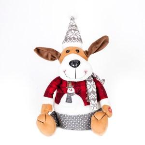 耶誕電動搖擺狗 40cm