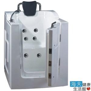 【海夫】開門式浴缸 101B-T恆溫水柱按摩款105*85*108cm