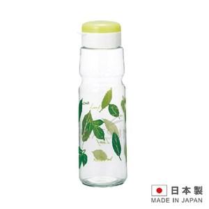 日本進口 綠樹葉玻璃冷水瓶 IW-SGI-08G