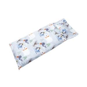 HOLA 雪地聖誕純棉防螨抗菌睡袋