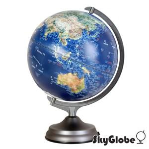 SkyGlobe12吋衛星原貌/金屬底座/觸控三段式/立體地球儀