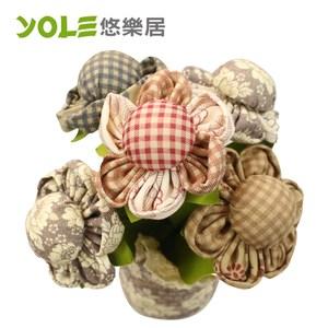 【YOLE 悠樂居】爭妍-花藝造型香炭包#1035059(2入)