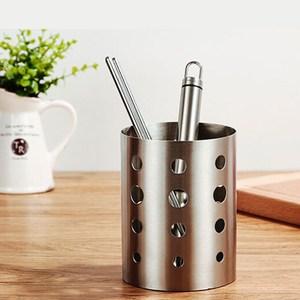 【PUSH!餐具用品】304不鏽鋼加厚筷子收納筒(標準款)E55