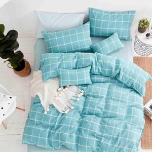 TRONlife好床生活 水洗純棉四件式兩用被床包組 迷離時空雙人