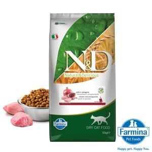 法米納 ND挑嘴幼母貓天然無穀糧-雞肉石榴10kg(A312C03)