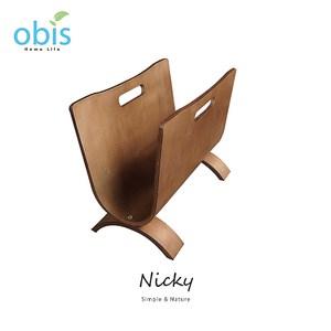 【obis】Nicky雜誌U型架-胡桃色