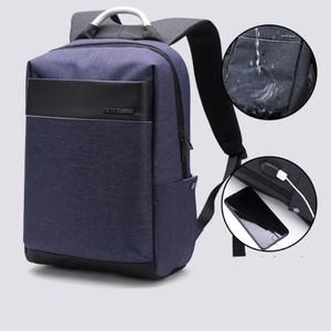 PUSH!商務旅遊用品防水電腦3C背包書包U56藍色藍色