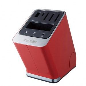 YAMASAKI 山崎家電 智慧型多功能滅菌刀座 SK-HV01(紅)紅色