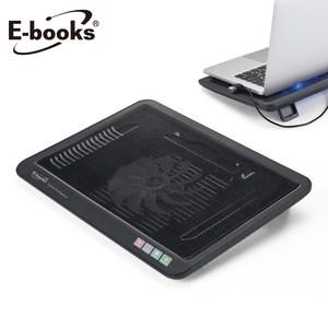 E-books C1 薄型筆電散熱底座黑