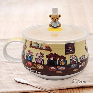 英國熊 可微波造型胖胖杯850ml 超值2入 053BC-3033