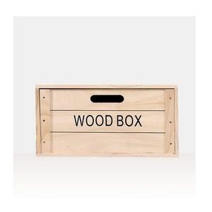 木質抽屜收納箱-50x18cm