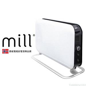 挪威 mill 對流式電暖器 SG1500LED 適用空間6-8坪