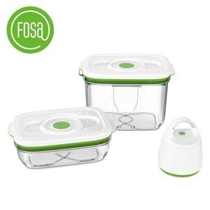 FOSA 真鮮寶 真空保鮮盒套裝/方形盒 30020 (含主機)