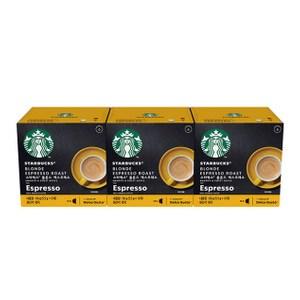 雀巢星巴克黃金烘焙義式濃縮咖啡膠囊 (3盒/36顆) 12398743