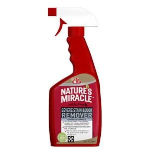 8in1 美國 自然奇蹟 活氧酵素去漬除臭噴劑(清新香味) 24oz/709ml X 1入