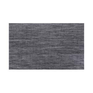 HOLA 特斯勒時尚編織踏墊50x80cm灰黑