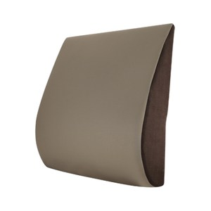 【Prodigy波特鉅】〈空氣布〉舒腰枕(透氣舒適機能質感 辦公室O舒腰枕-空氣棕