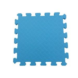 特力屋EVA安全地墊9入-淺藍色32x32x1.4cm