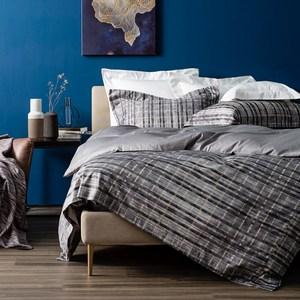 HOLA 瑞維尼純棉床被組 特大