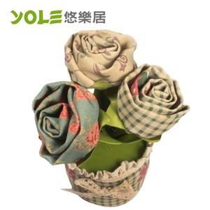 【YOLE 悠樂居】薔薇-花藝造型香炭包#1035055(2入)