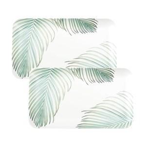(組)HOLA曼蒂美耐皿托盤21cm小棕櫚2入