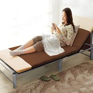 KOTAS》 多功能型 折疊鋼管床架-咖
