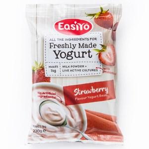 紐西蘭 EasiYo 優格粉 草莓口味 230g/包