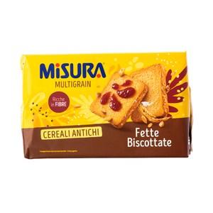 義大利MISURA 優穀香烤吐司片320g