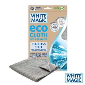 【WHITE MAGIC】澳洲進口不鏽鋼專用廚房抹布 (2入)