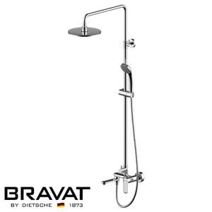 BRAVAT 貝朗 歐帕(Opal)淋浴花灑龍頭組 F6125183CP-A2