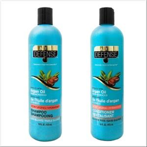 加拿大Daily Defense德芬洗髮乳/潤髮乳-摩洛哥堅果*6