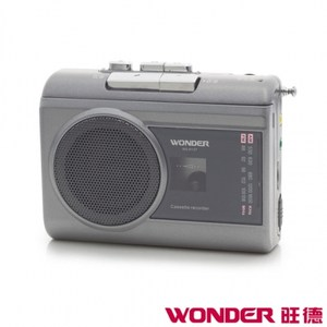 WONDER 旺德 WS-R13T  AM/FM卡式錄音機
