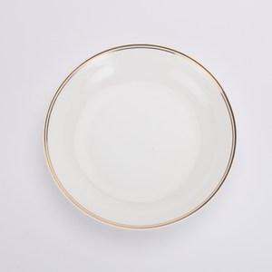 HOLA home 金弦骨瓷飯盤21.5cm