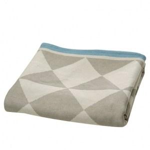 HOLA home幾何圖形萬用毯 灰色