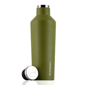 CORKCICLE Waterman戶外系列易口瓶-470ml橄欖綠