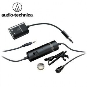 日本鐵三角Audio-Technica領夾電容麥克風ATR3350iS