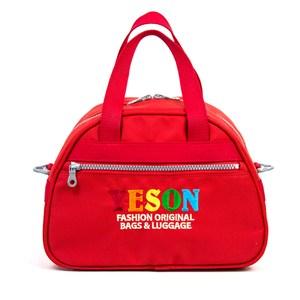 YESON - 手提斜背收納包兩色可選-MG-5010紅