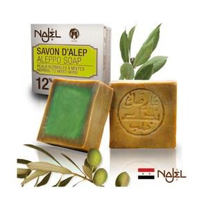 正宗NAJEL阿勒坡月桂油12%手工古皂200g