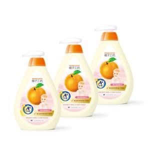 【橘子工坊】家用清潔類奶瓶蔬果清潔劑500ml*3